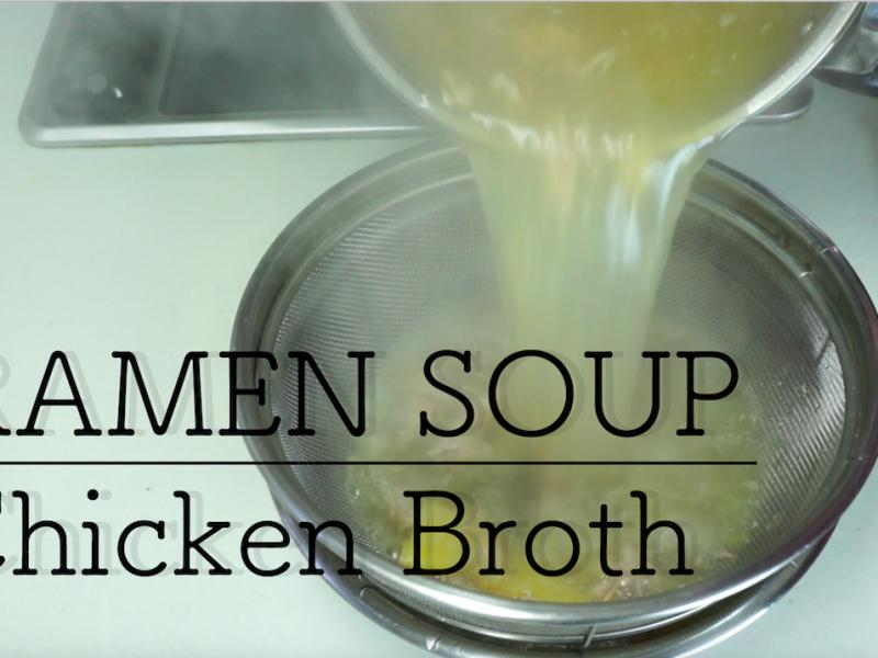 soy sauce ramen soup